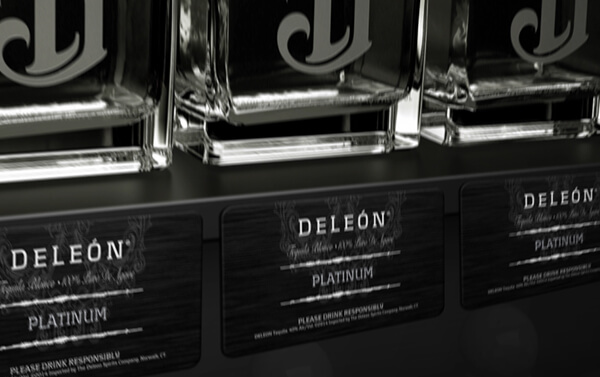DeLeon Tequila – Shelf Talker