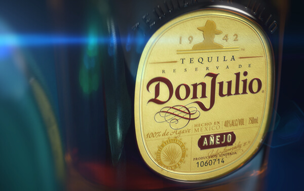 Don Julio – Anejo Detail Three Shot