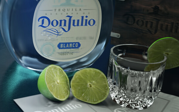 Don Julio Tequila – Blanco with Bar Glorifier