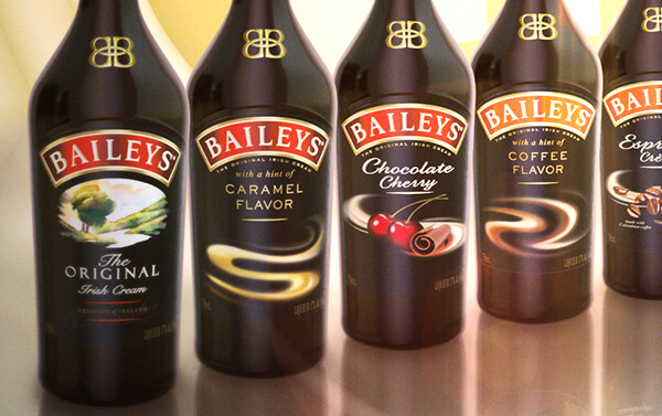 Baileys – Bottle Montage