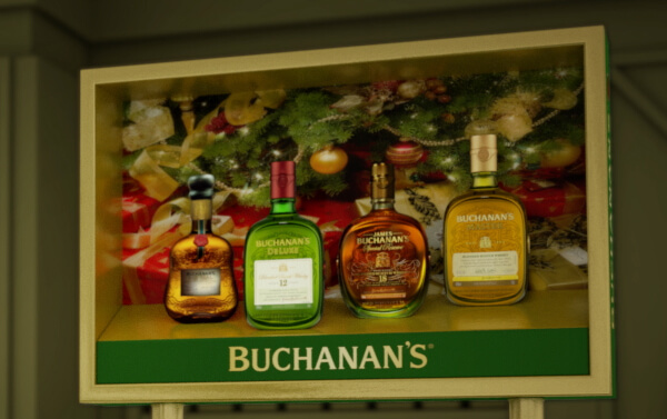 Buchanan's Whisky – Off Premise