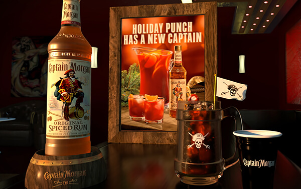 Captain Morgan – On Premise