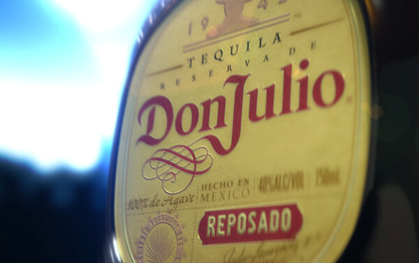 Don Julio Tequila – Reposado Detail Three Shot